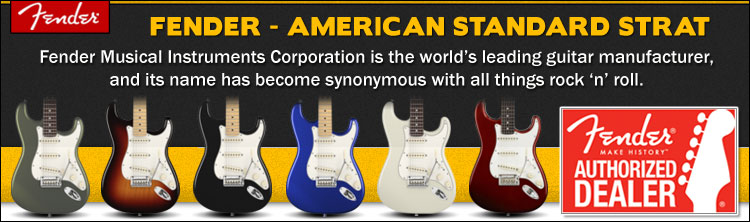 American Standard Stratocasters