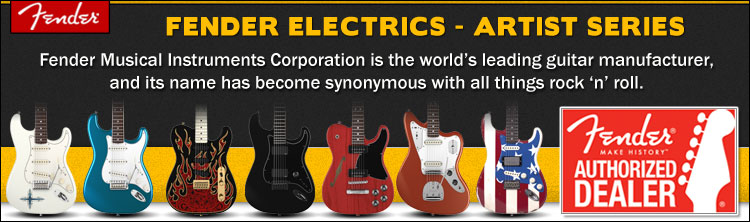 Fender Artists Design Electric Guitars