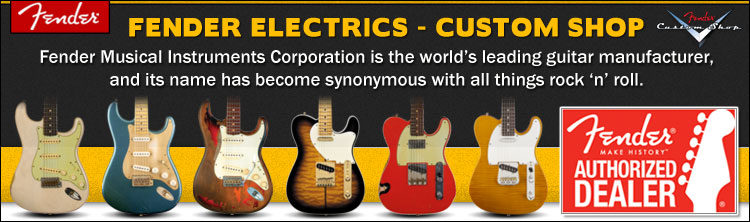 Fender Custom Shop Electric Guitars
