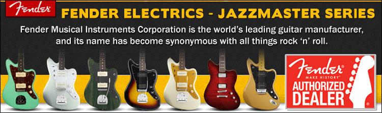 Fender Jazzmaster Electric Guitar Series