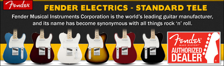 Fender Standard Telecaster Electric Guitars
