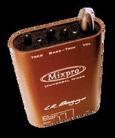 L.R. Baggs MIXPRO Dual Channel belt-clip preamp