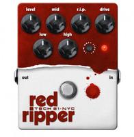 Tech 21 Red Ripper - Bass Fuzz Distortion Pedal