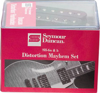 Seymour Duncan Distortion Mayhem Set - SH-6n & SH-6b Pickups