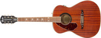 Fender Tim Armstrong Hellcat Acoustic/Electric Guitar, Left Handed