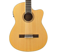 Alvarez RC26HCE Classical Hybrid Guitar - Natural, w/ Bag