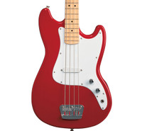 Fender Affinity Bronco Bass, Maple Fingerboard - Torino Red