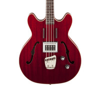 Guild Starfire Bass - Cherry Red, w/ Case