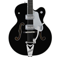 Gretsch Guitars G6136SLBP Brian Setzer Black Phoenix Electric Guitar