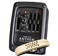 LR Baggs StagePro Anthem Tru-Mic Pickup System, Preamp/EQ & Tuner