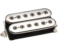 DiMarzio Mo' Joe DP216CC Guitar Pickups - Chrome Top Silver