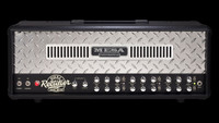 Mesa Boogie Dual Rectifier 100 Watt Head - Chrome Diamond Plate
