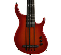 Kala Solid Body U-Bass SUB - 4-String, Cherry Sunburst w/ bag