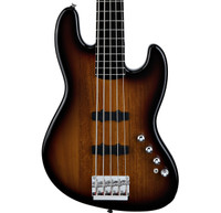 Fender Squier Deluxe Jazz Bass Active V - 3-Color Sunburst