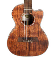 Kala Tenor Cutaway with EQ All Mahogany Ukulele, KA-SMHTE-C
