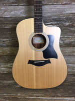 Taylor 110ce Acoustic/Electric Cutaway Guitar w/ Gig Bag