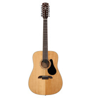 Alvarez AD60-12, Solid Spruce Top, 12-String