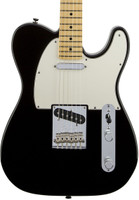 Fender American Standard Telecaster Guitar - Black, Maple Fingerboard