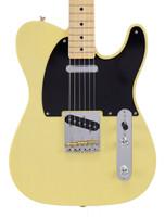 Fender American Vintage '52 Korina Telecaster - Blackguard Blonde with Case