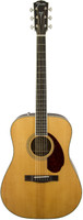 Fender PM-1 Standard Dreadnought Acoustic Guitar - Natural, Case