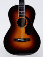 Fender Paramount PM-2 Deluxe Parlor Acoustic Guitar - Vintage Sunburst with Case