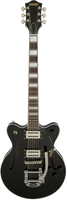 Gretsch G2655T Streamliner Center Block Jr. with Bigsby - Broad'Tron Pickups, Black