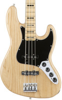 Fender Elite Jazz Bass - Natural with Case