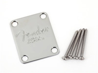 4-Bolt American Series Bass Neck Plate