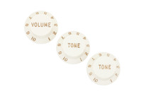 Stratocaster® Knobs Parchment