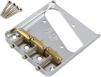 3-Saddle American Vintage Telecaster® Bridge Assembly (Chrome)