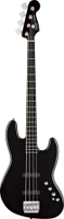 Squier Deluxe Jazz Bass® IV Active (4 String), Ebonol Fingerboard, Black