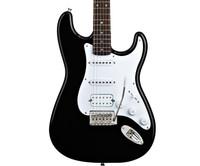 Fender Squier Bullet HSS Stratocaster, w/ Tremolo - Black