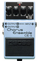 Boss CE-5 Chorus Ensemble Effects Pedal, Stereo