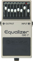 Boss GE-7 7 Band Graphic Equalizer Guitar Pedal