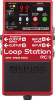 Boss RC-3 Loop Station Pedal with USB