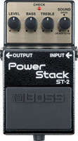 Boss ST-2 Power Stack Distortion Pedal for Electric Guitar