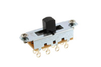 EP-0261-023 Switchcraft Black On-Off-On Slide Switch