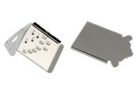 MT-0987-001 Mandolin Tailpiece Nickel