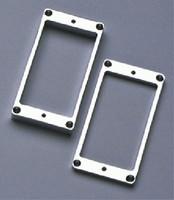 PC-0438-010 Metal Humbucking Ring Set Curved Chrome
