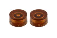PK-0130-022 Vintage Style Amber Speed Knobs