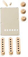 Stratocaster® Accessory Kit, Aged white.
