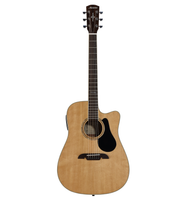 AD60CE Artist 60 Series Dreadnought Electric, Natural Finish