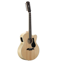 Alvarez AJ80CE-12 Artist 80 series Jumbo Electric 12-String, Natural finish