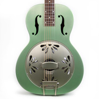 Gretsch G9202 Honey Dripper Special Round Neck Resonator Guitar Swamp Green