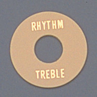 AP-0663-028 Cream Plastic Rhythm/Treble Ring