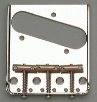 TB-0020-001 Nickel Vintage 3 Saddle Bridge for Telecaster®