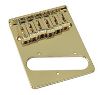 TB-0030-002 Gold 6 Saddle Gotoh Bridge for Telecaster®