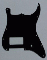 PG-0993-033 1 Humbucker Black Pickguard for Stratocaster®