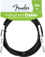 Fender Performance Series 10' Instrument Cable, Black