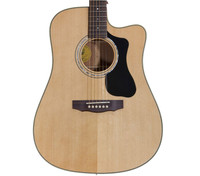 Guild D-140CE Dreadnought Acoustic Guitar with Hardshell Case